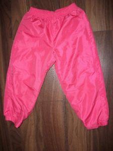 size 4 girls lined splash pants