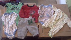 0-3 Month Baby Boy Clothes
