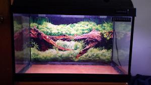 10 gallon fish tank for sale.