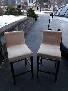 2 Counter Top Style Chairs