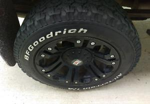"""20"""" wheels and r20 tires"""