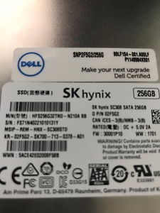 256gb SK Hynix SC308 Solid State Drive