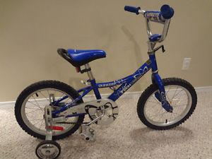$90 - Supercycle 16'' Bike with training wheels. GREAT DEAL