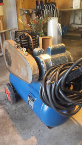 Air Compressor - Twin Cylinder - Moving Must Sell