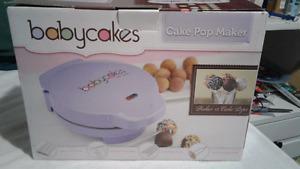 Baby cakes, cake pop maker