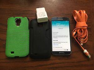 Black Samsung Galaxy S4 for sale