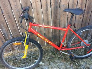 Bonelli 18 speed mountain bike, (26 Inch tires)