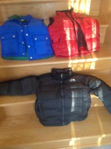 Boys jacket and vest