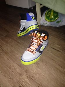 Brand new DC shoes never used once EVER !!!asking $100 O.B.O