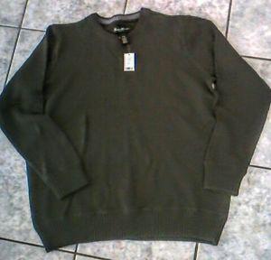 Eddie Bauer Dark Green Sweater Size XL New with Tags