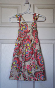 Gap (retail) double spaghetti strap dress 4T *NWT*