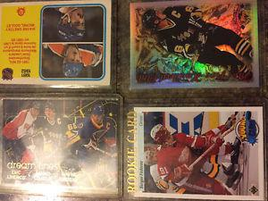 Hockey cards for sale in excellent condition