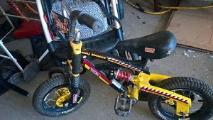 Kids Tonka with Dual Shock bike for sale, $30