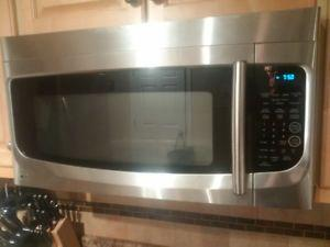 LG microwave over for sale