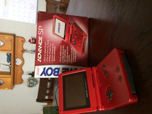 MINT GAMEBOY ADVANCE SP BOXED WITH ORIGNAL RECIEPT