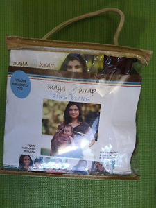 Maya wrap ring sling in purple