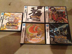 Pokémon game for Nintendo ds