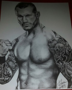 Randy Orton wwe photo print