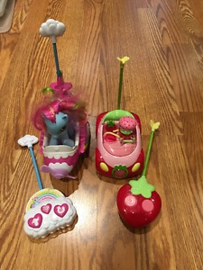 Remote control toys - My Little Pony and Strawberry Shortcut