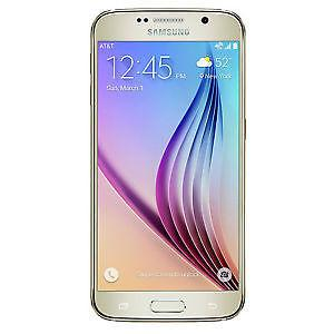 Samsung Galaxy S6, Unlocked, with case and screen protector