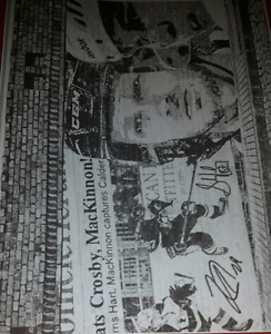 Sidney Crosby and Nathan mackinnon NHL Hockey photo print