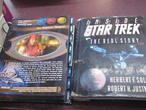 Star Trek Fans - Books/ Audio Books / Cards