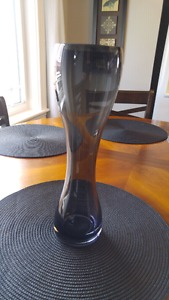 Tall black vase $5 in perfect condition
