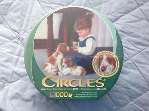 Tea Party  pic Circles Jigsaw NIB