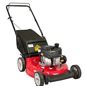 Yard Machines 21-inch Gas 2-in-1 Push Lawn Mower