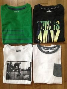 $10 for the lot - Boys Long Sleeve Shirts - Medium (8-10)