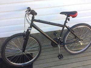 21 Speed mountain bike, (26 Inch tires)