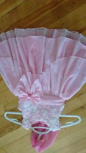 24 month/30lb pink dress