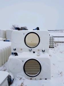500 Gallon Portable Water Tank