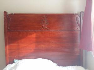 Antique Mahogany bedroom set