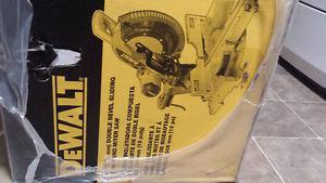 ***BRAND NEW*** 305 mm double bevel sliding compound mitre