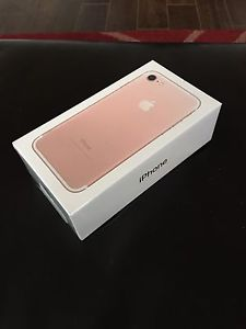 BRAND NEW IPHONE 7 !!!COLOR PINK. Unlock
