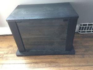 Black tv stand forsale