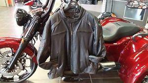 Brand New Harley Davidson Black Leather Jacket