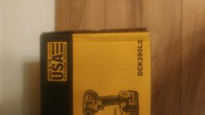 Brand new in the box Dewalt DCK290L2 kit.