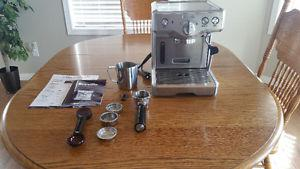 Breville Stainless Steel Duo-Temp Espresso Machine for sale