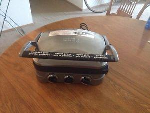 CUISINART ELECTRIC GRILL & GRIDDLE