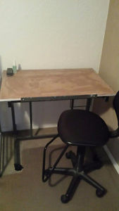 Drafting Table & Chair