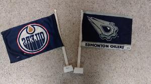 Edmonton Oilers Car Flags