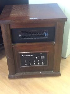 garrison convection heater with thermostat manual