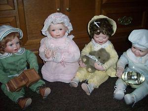 God Hears the Little Children - Porcelain Dolls