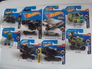 Hot Wheels Pop Culture Cars $4 Each (Batman, Back to the