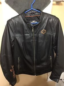 Ladies Harley coat and Low Rider chaps