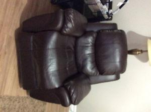 Leather Sofa and chair located in Riverhead Harbour Grace
