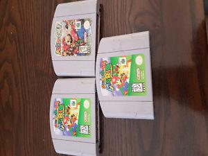 Mario 64 and Mario Golf