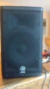 Mini P.A. powered speaker, acoustic guitar amp.
